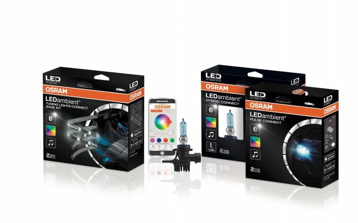 OSRAM Produktfamilie LEDambient Connect