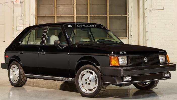 1986 Dodge Omni GLHS front