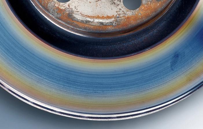 Br Schadensbild Bremsscheibe blau gefaerbte Oberflaeche2 nt 5942