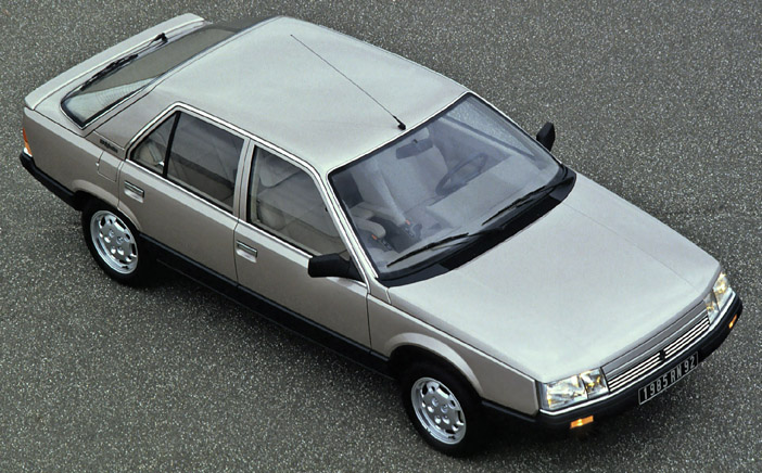 1985 Renault 25 V6 injection top