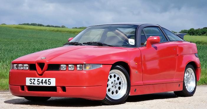 1989 Alfa Romeo SZ front