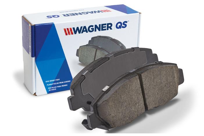 Federal Mogul Motorparts Wagner QS Box wPads