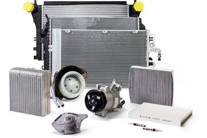 Delphi Technologies Air Conditioning Range