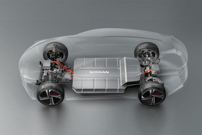 426220316 Nissan IMx KURO concept vehicle technology
