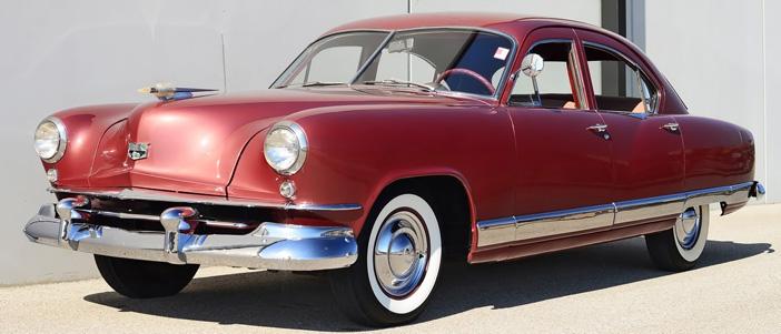 1951 Kaiser Deluxe front
