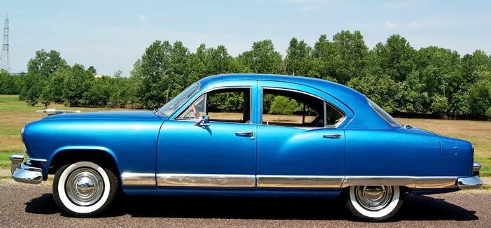 1951 Kaiser Deluxe side