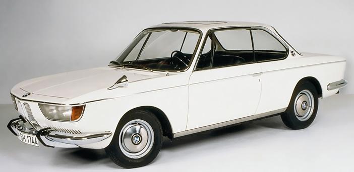 1965 BMW 2000 CS E120