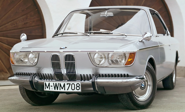 1965 BMW 2000 CS E120 front