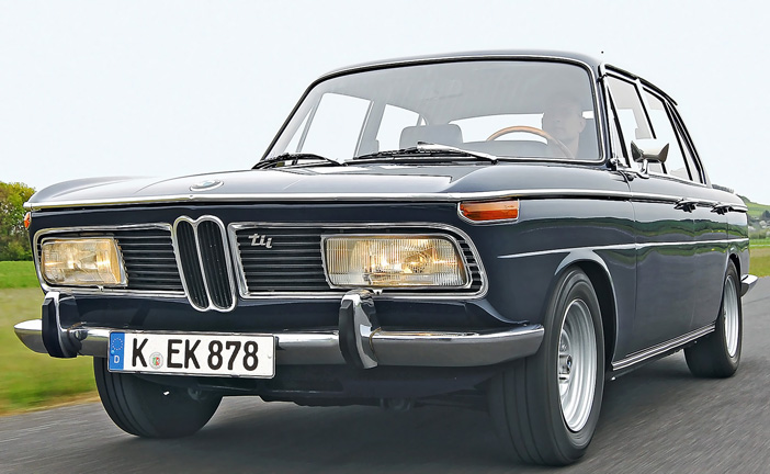 1970 BMW 2000 tii E121 front