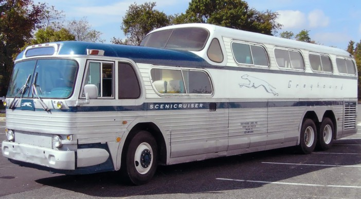 1954 Greyhound Scenicruiser