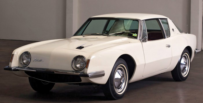 1963 Studebaker Avanti white front
