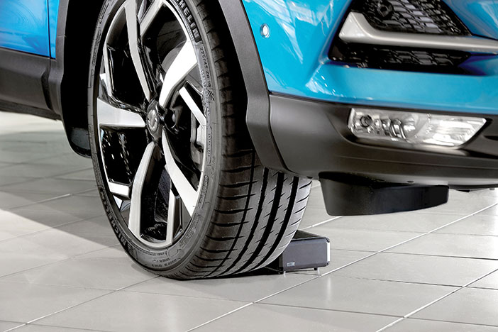 ShowroomCharger in use
