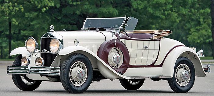 1930 Willys-Knight 66B Plaidside roadster