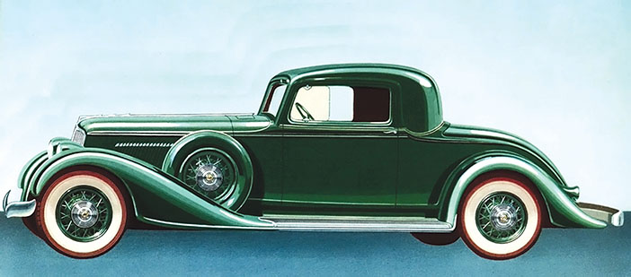1932 Graham Blue Streak Coupe adv side