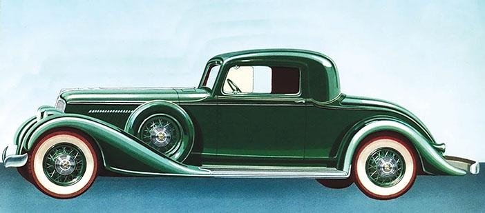 1932 Graham Blue Streak Coupe adv side