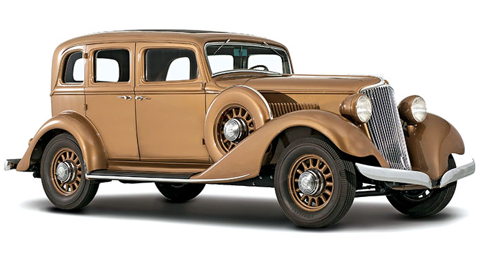 1933 Graham Blue Streak 8 Sedan