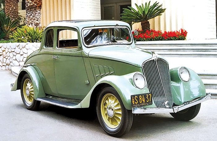 1933 Willys 77 Coupe front