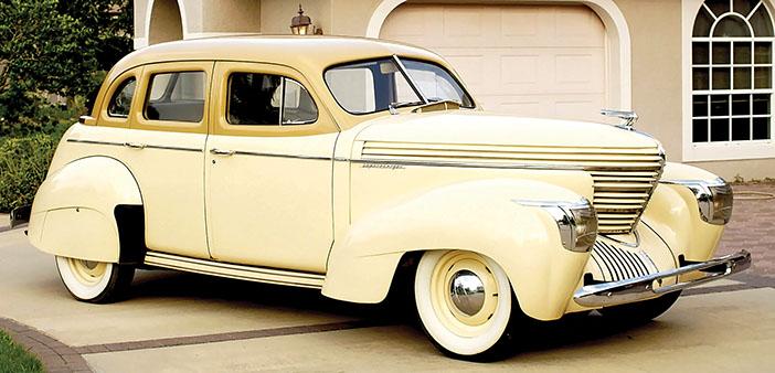1939 Graham Model 97 Supercharger Custom sedan