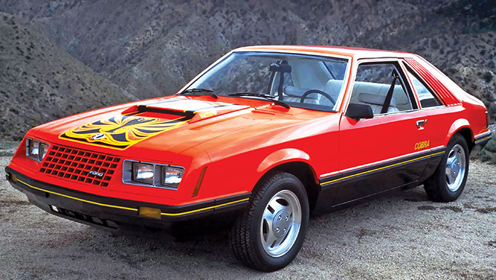 1979 Ford Mustang Cobra hatchback