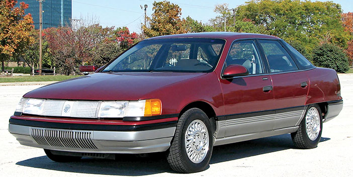 1986 Mercury Sable front-angle