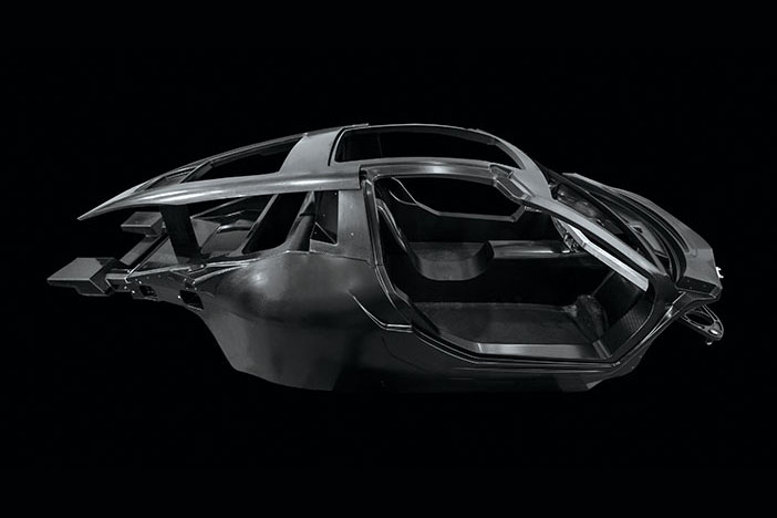 Hispano Suiza Carmen - carbon fibre monocoque