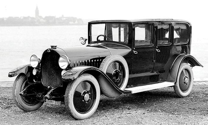 1925 Maybach W3 Limousine von Auer bw