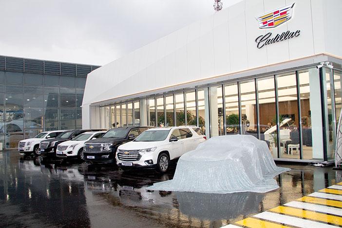 Cadillac в центре