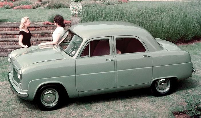 1951 Ford Consul Mk I side