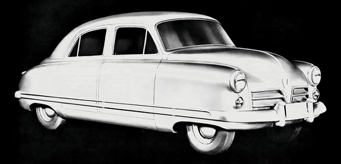 Chevrolet Cadet prototype drawing