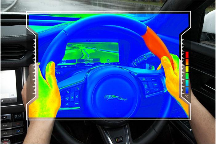 JLR Sensory steering wheel