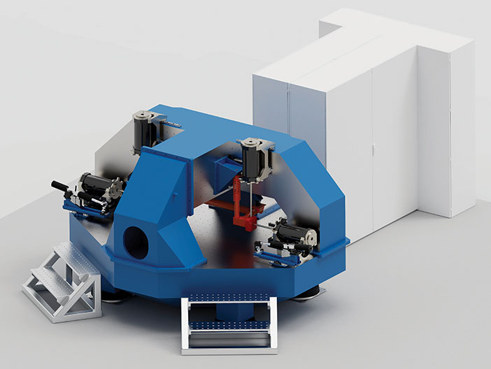 The ANVH 250 test rig produced by AB Dynamics
