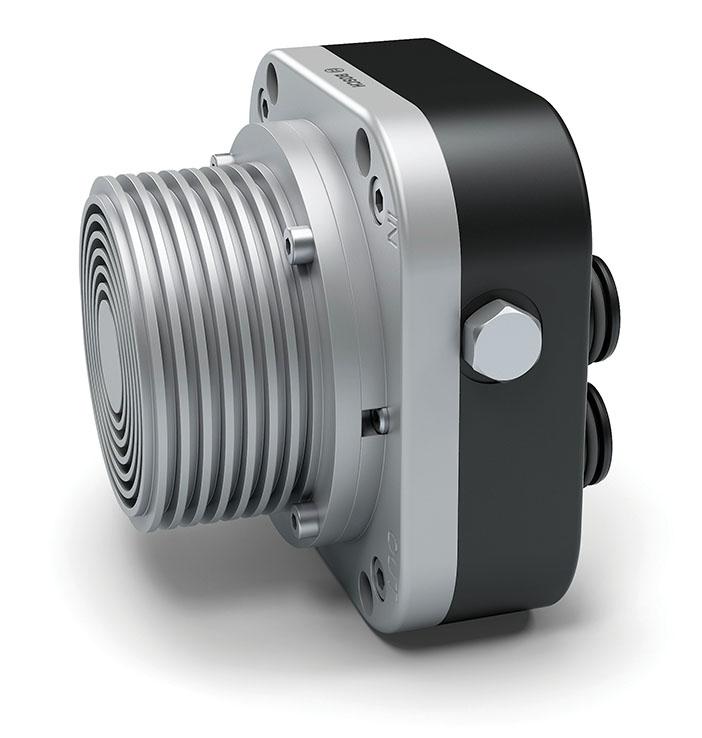 Anode recirculation blower