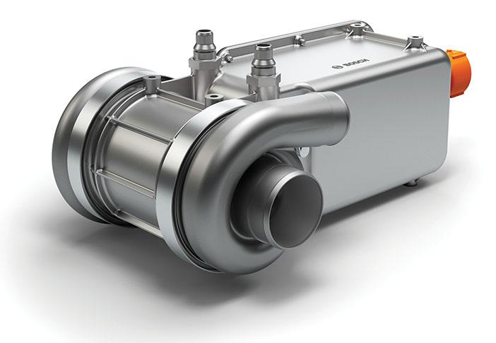 Electric air compressor