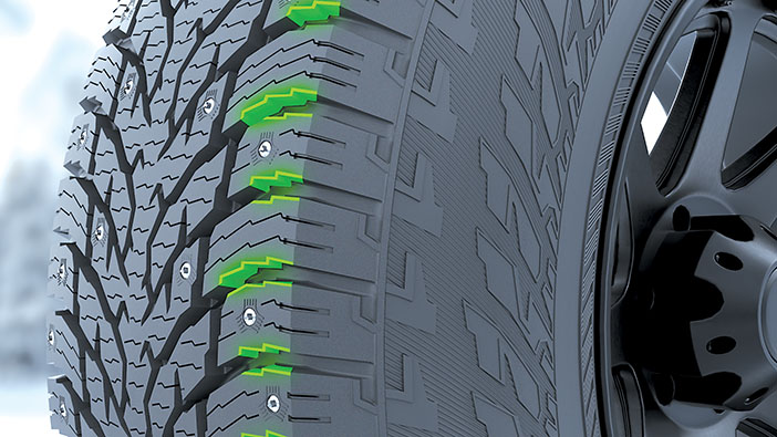 Brake boosters1 Nokian Hakkapeliitta LT3