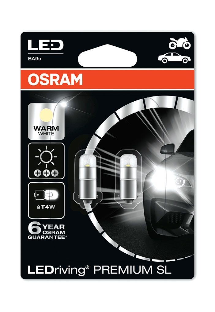 osram dam 8530405 LEDriving PREMIUM SL T4W 3850WW 02B Warm White