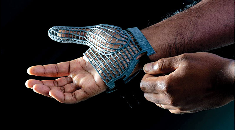 JLR 3D printed glove