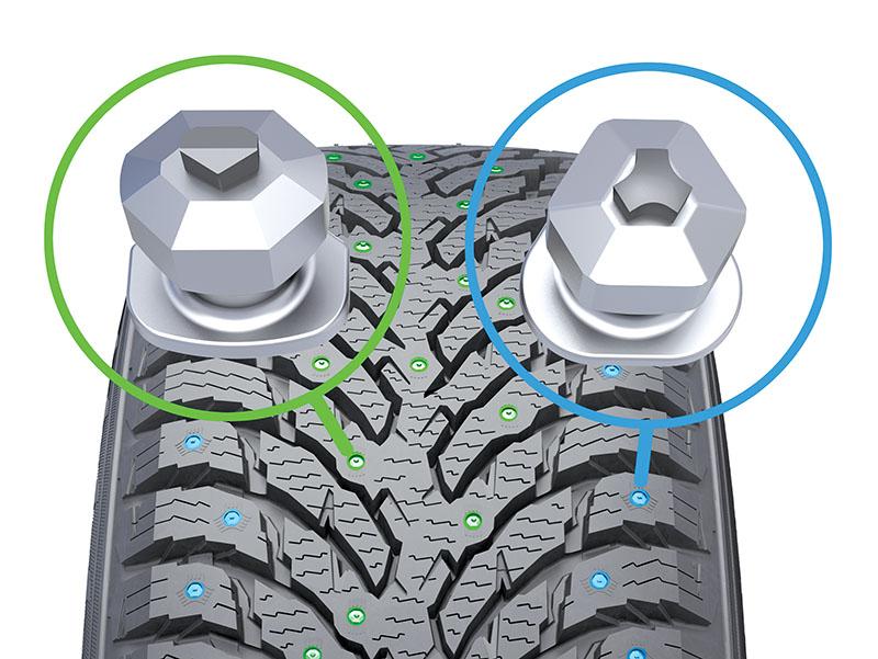 Nokian Hakkapeliitta 9 SUV Functional Studding 2