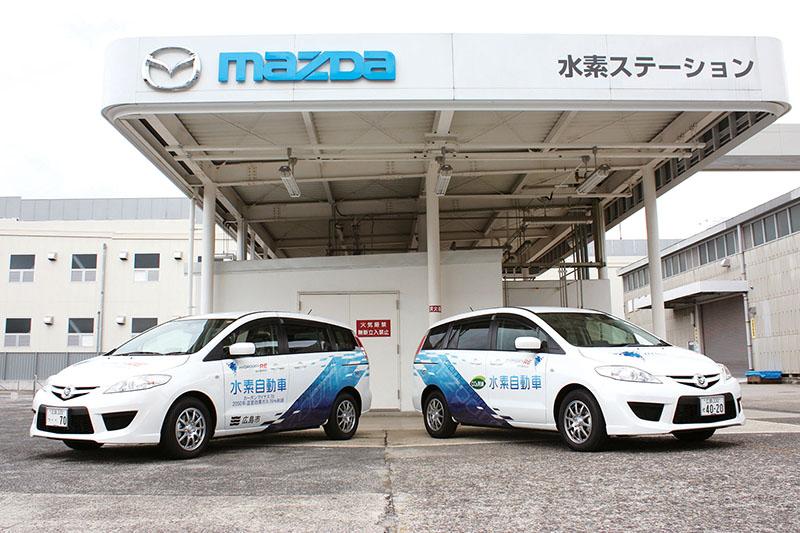 Mazda Premacy Hydorogen RE Hybrid